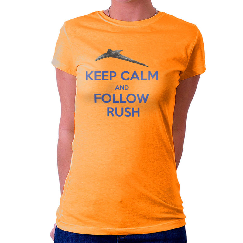 Stargate Universe Keep Calm and Follow Rush Destiny Women's T-Shirt by Hilarious Delusions - Cloud City 7