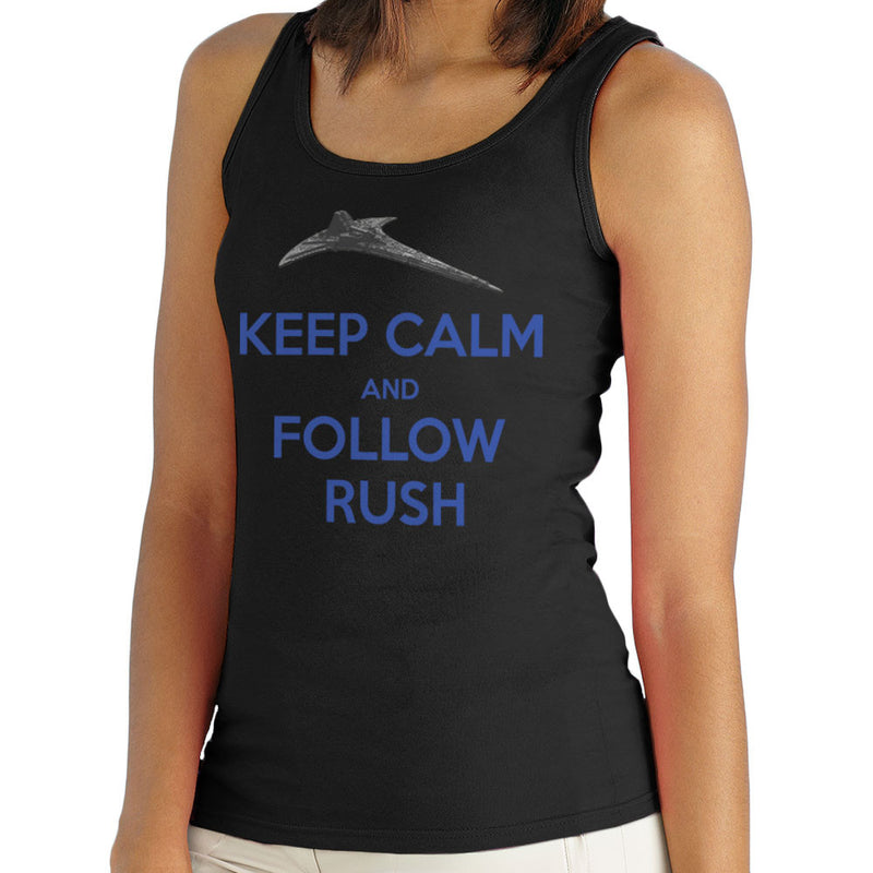 Stargate Universe Keep Calm and Follow Rush Destiny Women's Vest by Hilarious Delusions - Cloud City 7