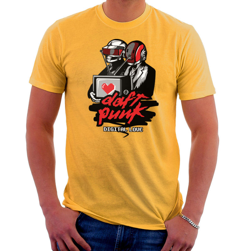 Daft Punk Digital Love Men's T-Shirt Men's T-Shirt Cloud City 7 - 18