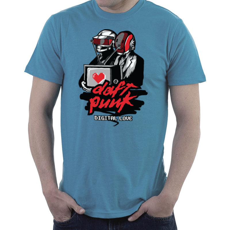 Daft Punk Digital Love Men's T-Shirt by Goodmorningnight - Cloud City 7
