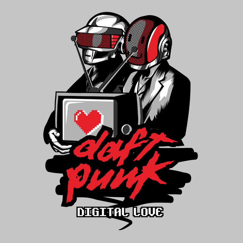 Daft Punk Digital Love Men's Vest by Goodmorningnight - Cloud City 7