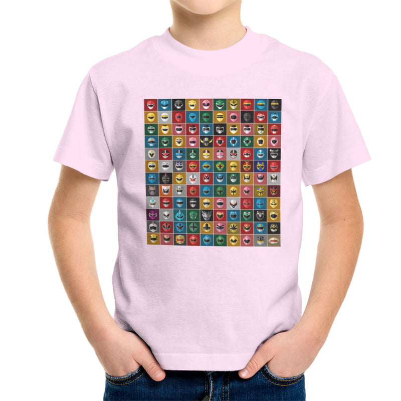 Mighty Morphin Power Rangers All Kid's T-Shirt by Goodmorningnight - Cloud City 7