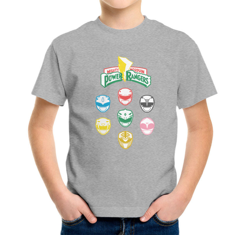 Mighty Morphin Power Rangers Original Kid's T-Shirt by Goodmorningnight - Cloud City 7