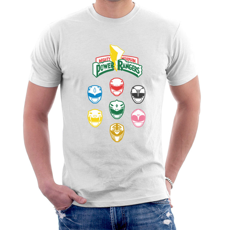 Mighty Morphin Power Rangers Original Men's T-Shirt by Goodmorningnight - Cloud City 7