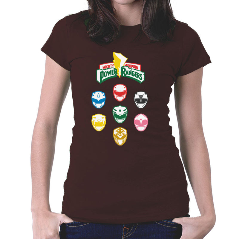 Mighty Morphin Power Rangers Original Women's T-Shirt by Goodmorningnight - Cloud City 7