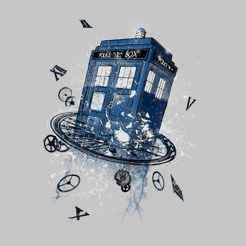 Doctor Who Tardis Breaking the Time by RicoMambo - Cloud City 7