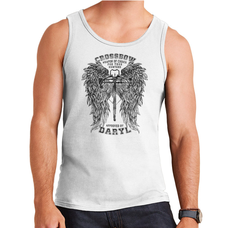 The Walking Dead Crossbow Approved by Daryl Men's Vest by RicoMambo - Cloud City 7
