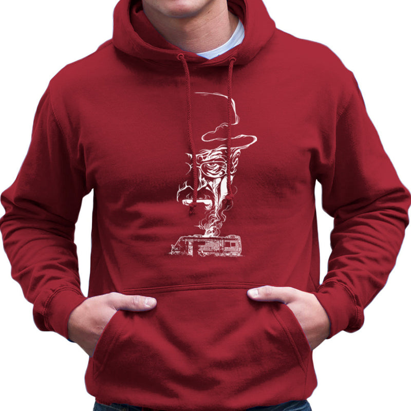 Breaking Bad Heisenberg Smoke Walter White Winnebago Men's Hooded Sweatshirt Men's Hooded Sweatshirt Cloud City 7 - 15