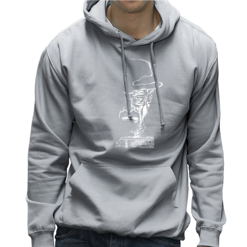 Breaking Bad Heisenberg Smoke Walter White Winnebago Men's Hooded Sweatshirt Men's Hooded Sweatshirt Cloud City 7 - 5