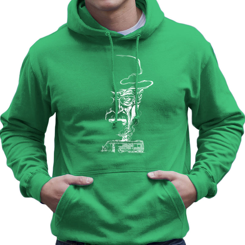 Breaking Bad Heisenberg Smoke Walter White Winnebago Men's Hooded Sweatshirt Men's Hooded Sweatshirt Cloud City 7 - 14