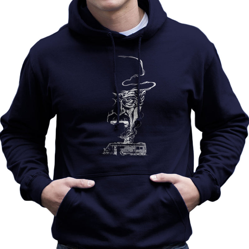 Breaking Bad Heisenberg Smoke Walter White Winnebago Men's Hooded Sweatshirt Men's Hooded Sweatshirt Cloud City 7 - 7