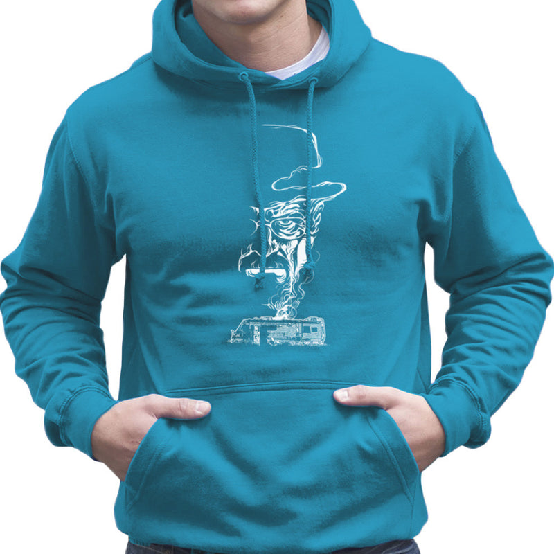 Breaking Bad Heisenberg Smoke Walter White Winnebago Men's Hooded Sweatshirt Men's Hooded Sweatshirt Cloud City 7 - 10