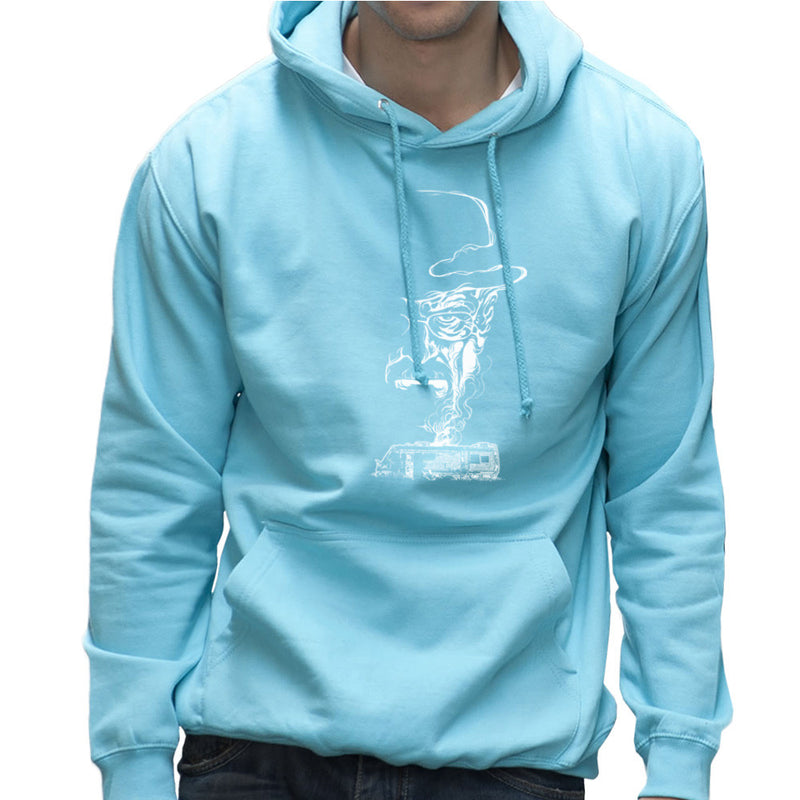 Breaking Bad Heisenberg Smoke Walter White Winnebago Men's Hooded Sweatshirt Men's Hooded Sweatshirt Cloud City 7 - 11