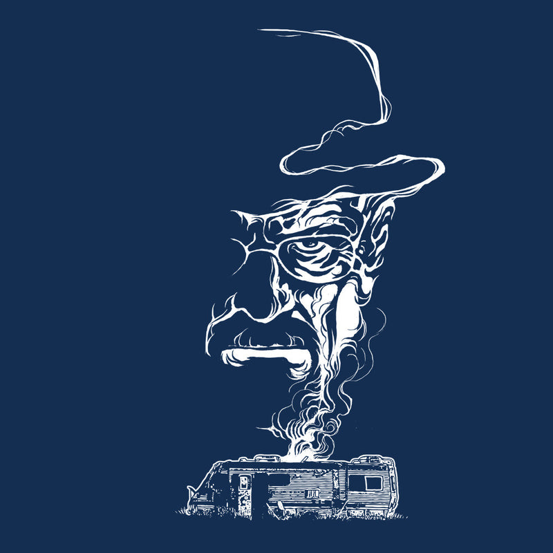 Breaking Bad Heisenberg Smoke Walter White Winnebago Men's Vest by RicoMambo - Cloud City 7
