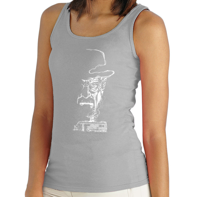 Breaking Bad Heisenberg Smoke Walter White Winnebago Women's Vest by RicoMambo - Cloud City 7