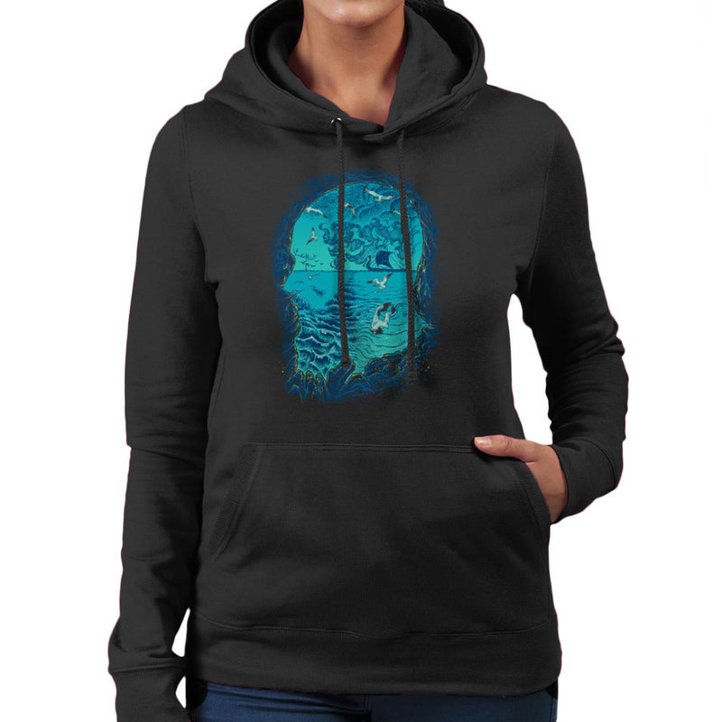 Vikings Ragnar Lothbrok I am War Women's Hooded Sweatshirt by RicoMambo - Cloud City 7