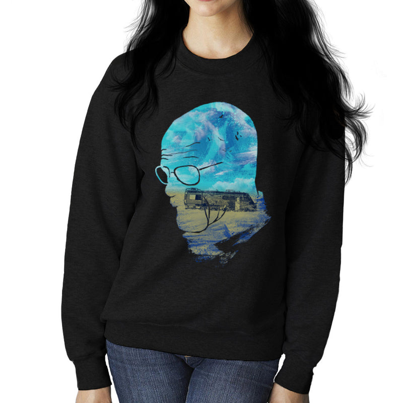 Breaking Bad Walter White Nice Day for Cooking Women's Sweatshirt Women's Sweatshirt Cloud City 7 - 2