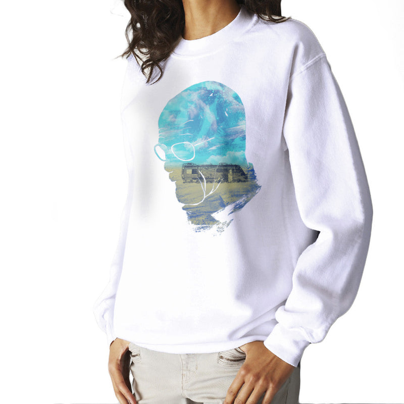Breaking Bad Walter White Nice Day for Cooking Women's Sweatshirt Women's Sweatshirt Cloud City 7 - 1