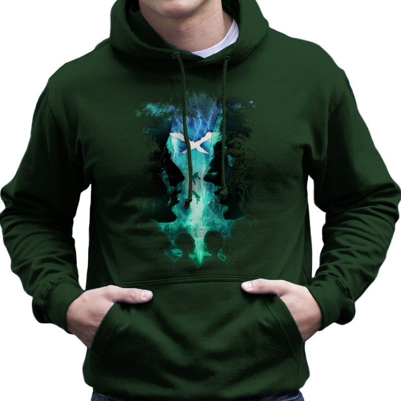 X Files Mulder Scully Skys the Limit Aliens Men's Hooded Sweatshirt by RicoMambo - Cloud City 7