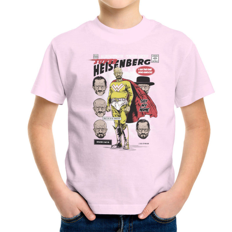Breaking Bad Super Heisenberg Kid's T-Shirt by RicoMambo - Cloud City 7