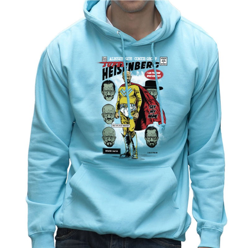 Breaking Bad Super Heisenberg Men's Hooded Sweatshirt by RicoMambo - Cloud City 7