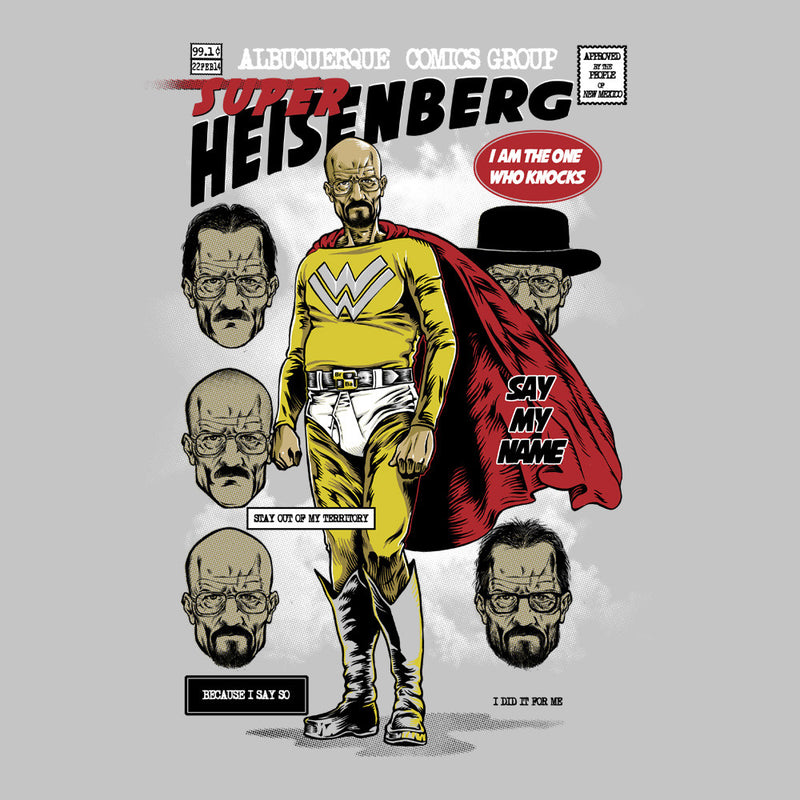 Breaking Bad Super Heisenberg Men's T-Shirt by RicoMambo - Cloud City 7