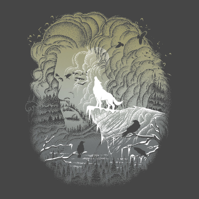 Game of Thrones Jon Snow Winter Wolf Night Sky Howling Moon Women's Vest by RicoMambo - Cloud City 7