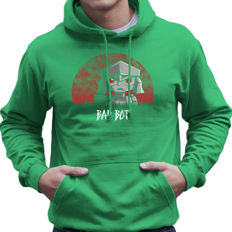 Bad Bot Transformers Megatron Men's Hooded Sweatshirt Men's Hooded Sweatshirt Cloud City 7 - 14