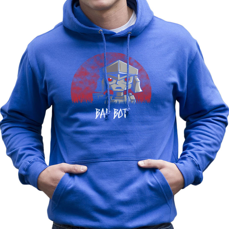 Bad Bot Transformers Megatron Men's Hooded Sweatshirt Men's Hooded Sweatshirt Cloud City 7 - 8