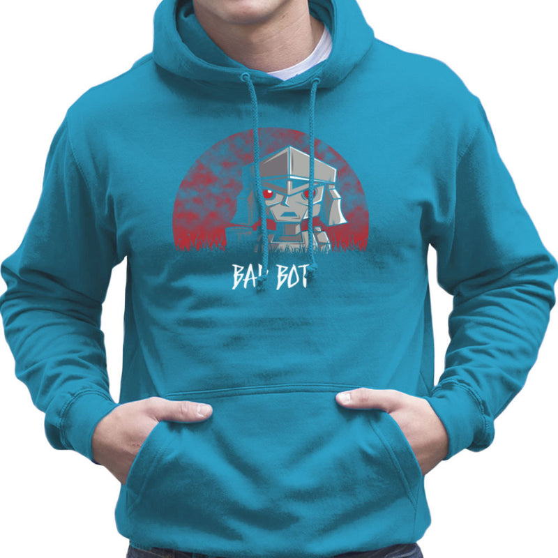 Bad Bot Transformers Megatron Men's Hooded Sweatshirt Men's Hooded Sweatshirt Cloud City 7 - 10