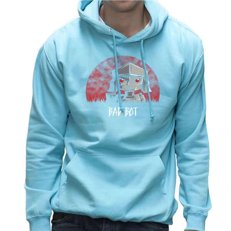 Bad Bot Transformers Megatron Men's Hooded Sweatshirt Men's Hooded Sweatshirt Cloud City 7 - 11