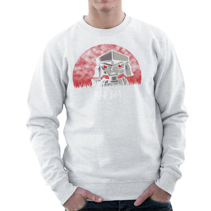 Bad Bot Transformers Megatron Men's Sweatshirt by Fanboy30 - Cloud City 7