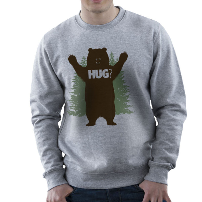 Bear Hug Men's Sweatshirt by Fanboy30 - Cloud City 7