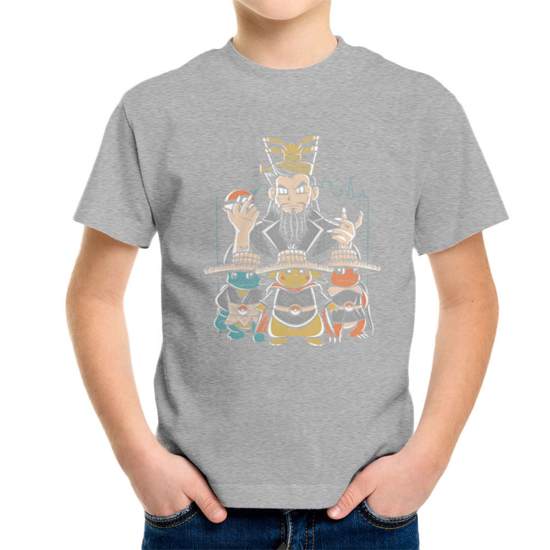 Big Trouble In Little Kanto Pokemon Kid's T-Shirt by Fanboy30 - Cloud City 7