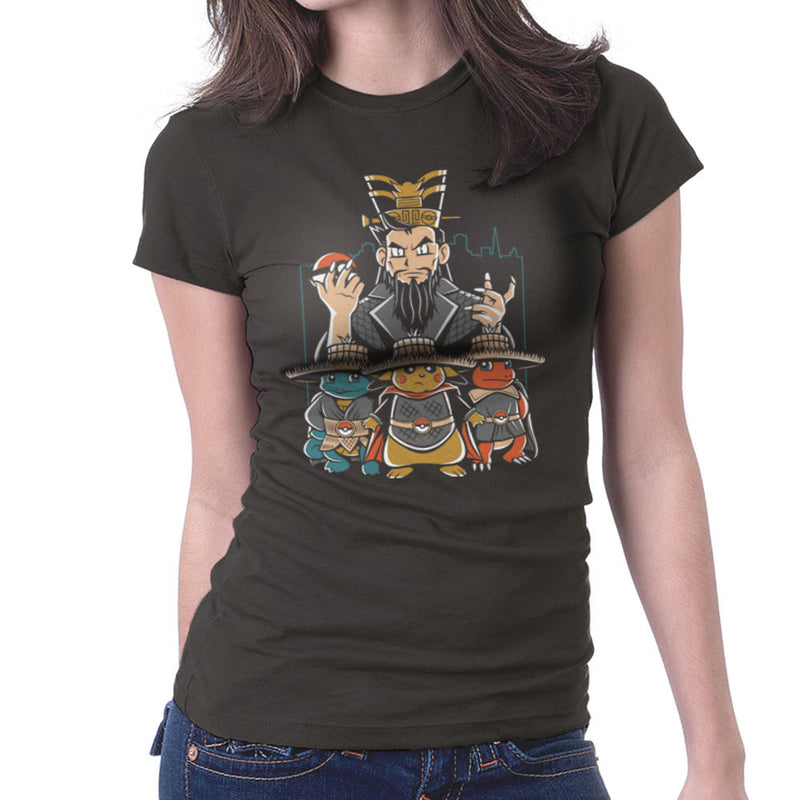 Big Trouble In Little Kanto Pokemon Women's T-Shirt by Fanboy30 - Cloud City 7
