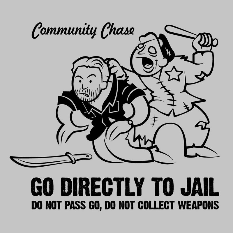 Community Chase Zombie Monopoly by Fanboy30 - Cloud City 7