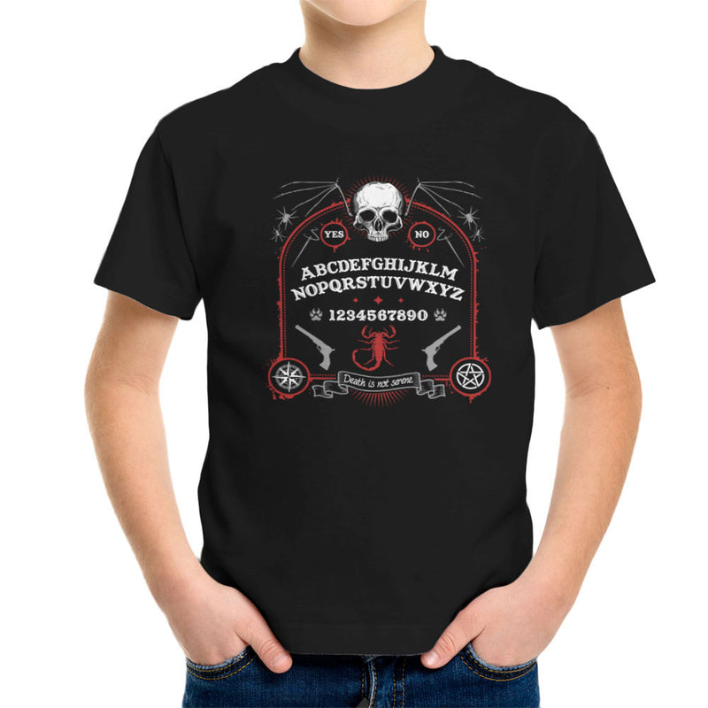 Death Is Not Serene Kid's T-Shirt by Fanboy30 - Cloud City 7