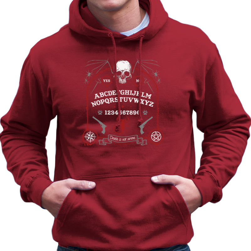 Death Is Not Serene Men's Hooded Sweatshirt by Fanboy30 - Cloud City 7