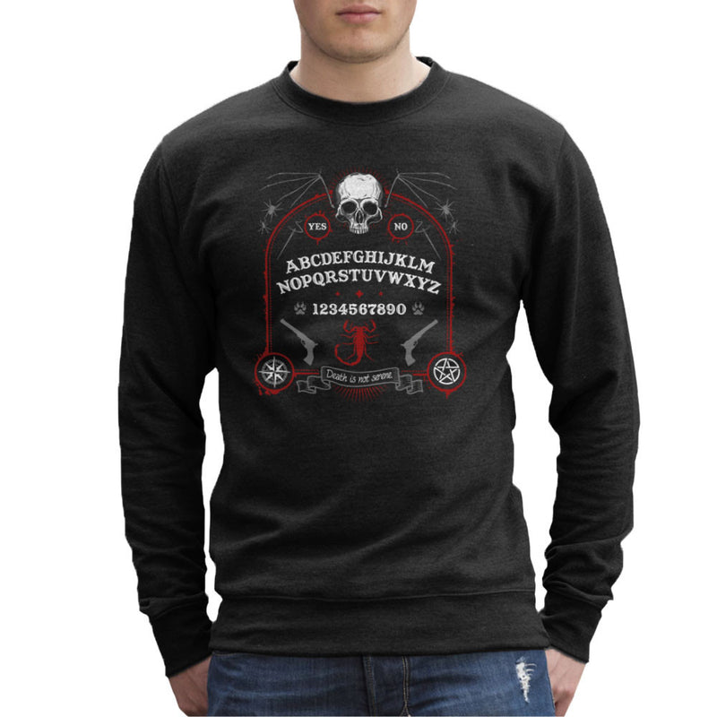 Death Is Not Serene Men's Sweatshirt by Fanboy30 - Cloud City 7