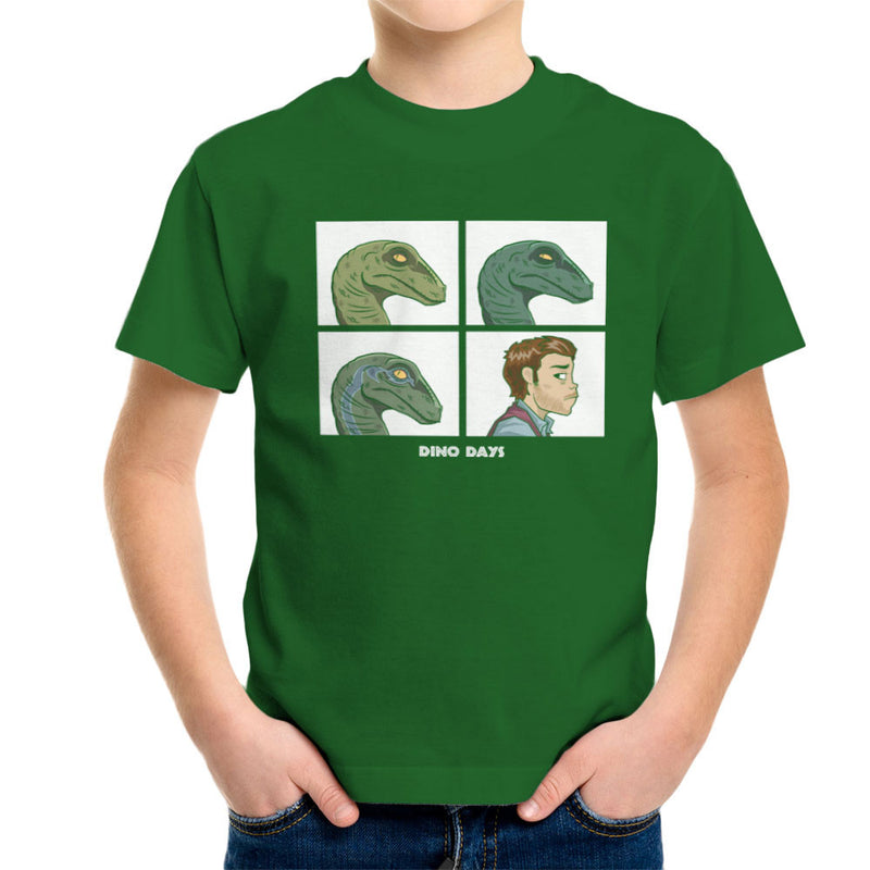 Dino Days Jurassic Park Gorillaz Kid's T-Shirt Kid's Boy's T-Shirt Cloud City 7 - 13