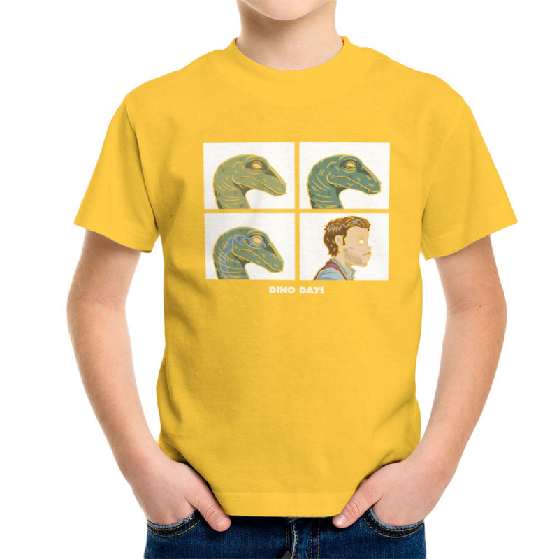 Dino Days Jurassic Park Gorillaz Kid's T-Shirt Kid's Boy's T-Shirt Cloud City 7 - 17