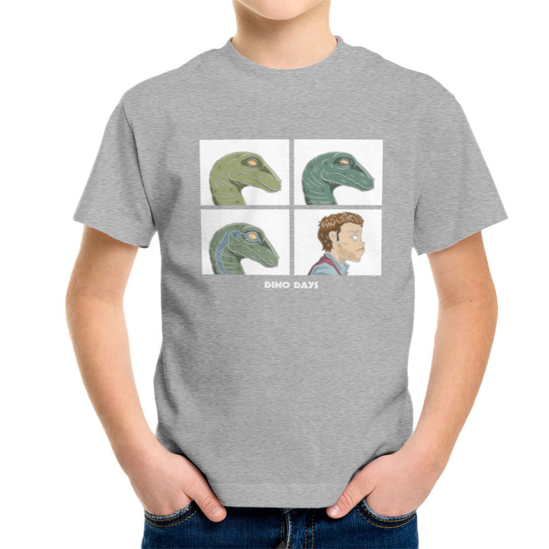 Dino Days Jurassic Park Gorillaz Kid's T-Shirt Kid's Boy's T-Shirt Cloud City 7 - 5