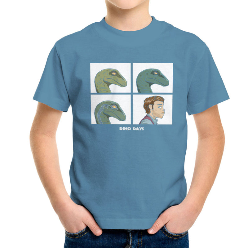 Dino Days Jurassic Park Gorillaz Kid's T-Shirt Kid's Boy's T-Shirt Cloud City 7 - 9