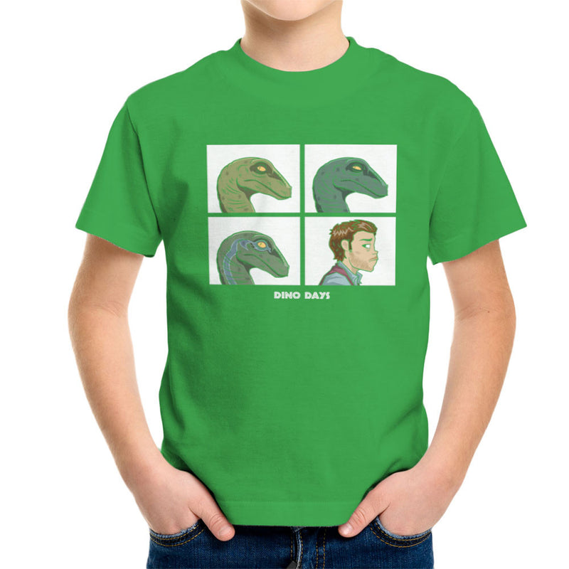 Dino Days Jurassic Park Gorillaz Kid's T-Shirt Kid's Boy's T-Shirt Cloud City 7 - 14