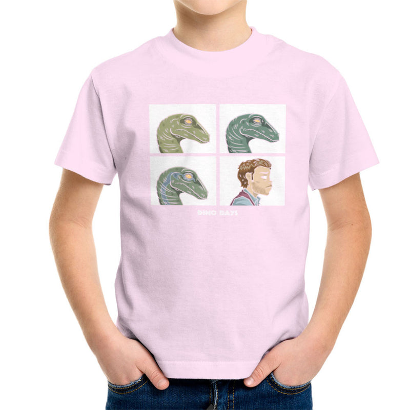 Dino Days Jurassic Park Gorillaz Kid's T-Shirt Kid's Boy's T-Shirt Cloud City 7 - 20