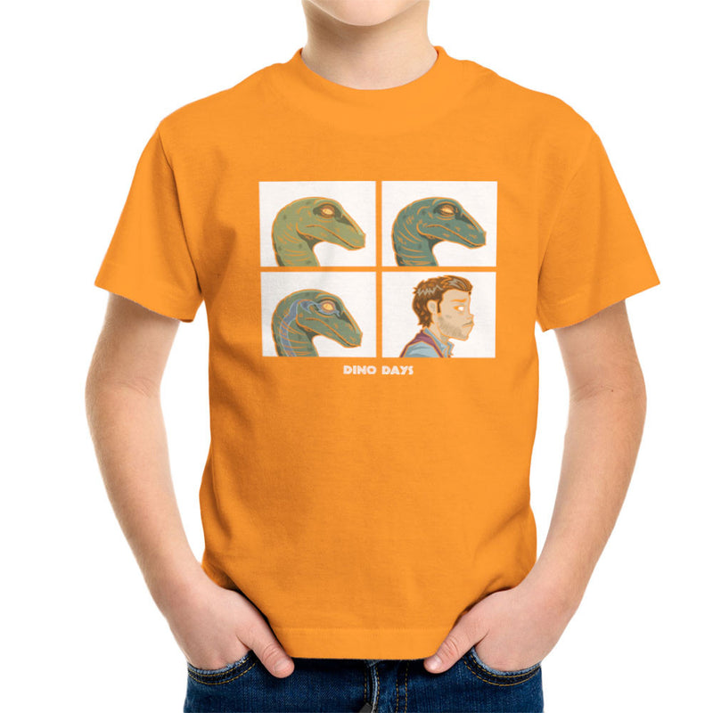 Dino Days Jurassic Park Gorillaz Kid's T-Shirt Kid's Boy's T-Shirt Cloud City 7 - 16