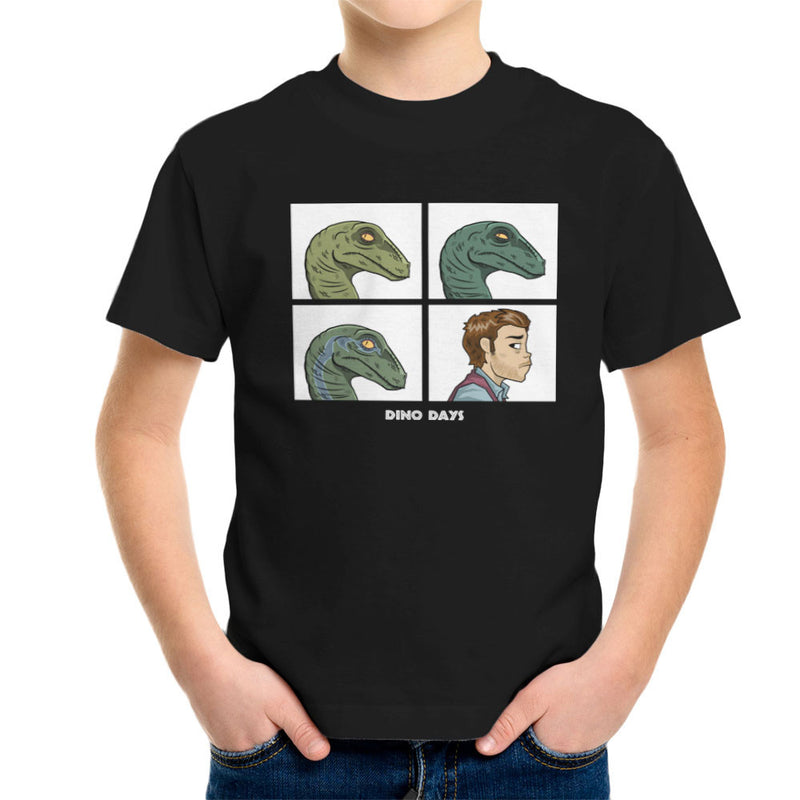 Dino Days Jurassic Park Gorillaz Kid's T-Shirt Kid's Boy's T-Shirt Cloud City 7 - 1
