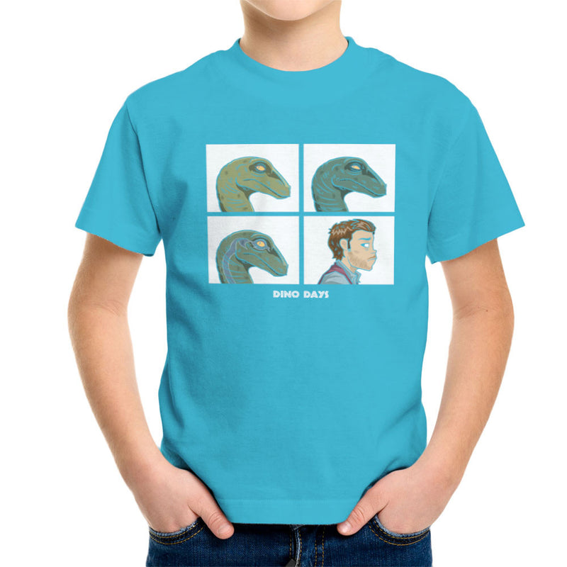 Dino Days Jurassic Park Gorillaz Kid's T-Shirt Kid's Boy's T-Shirt Cloud City 7 - 10