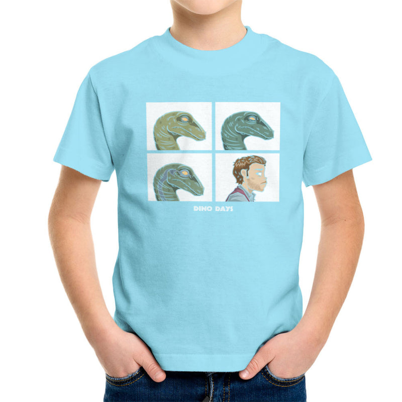 Dino Days Jurassic Park Gorillaz Kid's T-Shirt Kid's Boy's T-Shirt Cloud City 7 - 11
