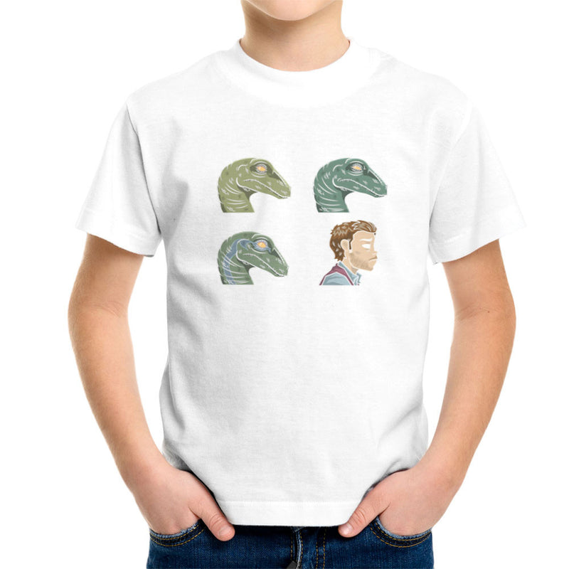 Dino Days Jurassic Park Gorillaz Kid's T-Shirt Kid's Boy's T-Shirt Cloud City 7 - 6
